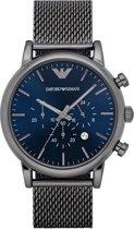 Emporio Armani Gunmetal horloge  - Grijs