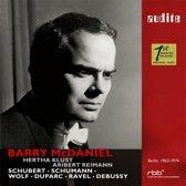 Barry Mcdaniel Sings Schubert, Schumann, Wolf, Dup