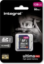 Integral 128GB SDXC UltimaPro