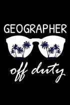 Geographer Off Duty