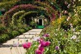 Papermoon Monet´s Garden Vlies Fotobehang 400x260cm 8-Banen
