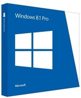 Microsoft Window 8.1 Pro DVD Nederlands - 32-bit/64-bit
