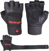 Harbinger Pro WristWrap® Gewichthefhandschoenen - Fitness Handschoenen - XL - Zwart