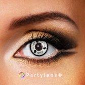 Partylenzen - Sharingan White level three - jaarlenzen inclusief lenzendoosje - kleurlenzen Partylens®