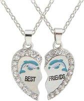 Fako Bijoux® - Vriendschapsketting - Best Friends - Dolfijn