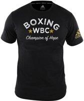 Adidas WBC T-Shirt Zwart-L