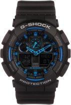 Casio G-Shock GA-100-1A2ER - Horloge - Kunststof - Zwart - Ø 50 mm