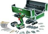 Bosch PSR 18 LI-2 Accuboormachine - 18 V - Met 241-delige toolbox - 2,5 Ampère