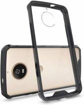 Hybrid Armor Case - Motorola Moto G5s - Zwart