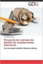 Proyecto de Normas de Diseno de Instalaciones Interiores