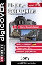 digiCOVER Hybrid Glas Display folie Sony Alpha 7 7R 9