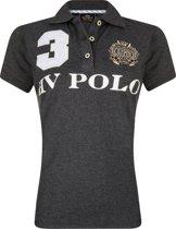 HV Polo Favouritas Eques KM - Polo Shirt - Grey Melange - M
