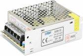 SOMPOM S-60-12 60W 12V 5A ijzer Shell Driver LED Light Strip verlichting Monitor Power Supply