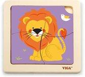 Viga puzzel leeuw