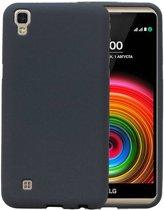 LG X Style K200 Grijs | Sand Look TPU Hoesje  | WN™