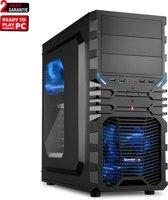 AMD Ryzen 3 2200G Game PC (Geschikt voor Fortnite)