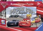 Ravensburger Cars 3. Twee puzzels - 12 stukjes - kinderpuzzel