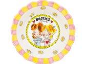 Blond Amsterdam Even Bijkletsen Bowl - Besties Forever -  Ø 23,5 cm