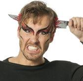 Hoofddiadeem met mes door hoofd