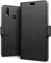 Huawei Honor 8X hoesje - Book Wallet Case - zwart