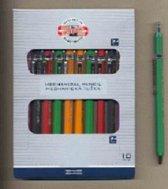 Koh-I-Noor mechanical clutch leadholder 2,0 5211, 5211CN1000KD