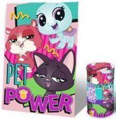 Littlest pet shop fleecedeken 100 x 150 cm