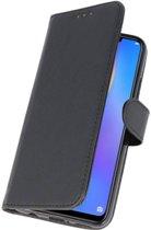 Huawei P Smart Plus Zwart | bookstyle / book case/ wallet case Wallet Cases Hoes  | WN™