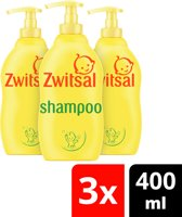 Zwitsal Baby Shampoo - 4 x 400 ml - Voordeelverpakking