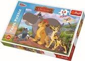 Maxipuzzel  / Disney Leeuwenwacht, 24 stukjes Puzzel