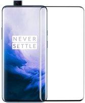 Shop4 - OnePlus 7 Pro Glazen Screenprotector - Edge-To-Edge Gehard Glas Transparant