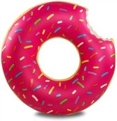 Opblaasbare Donut XXL - ∅ 120 cm | Opblaasbaar Waterspeelgoed | Drijvend Mega Zwembad Speelgoed | Drijvende Zwemband | Swim Ring  | Opblaasfiguur | Opblaasfiguren