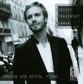 Debussy, Stravinsky, Newman