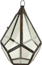 Glazen Lampenkap Antiek Extra Small