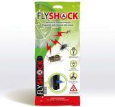 Set van 2 stuks - Elektrische Vliegenmepper - Insectenverdelger - oplaadbaar - met stekker - Flyshock