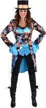 Vlinder Kostuum | Jas Vol Fladderende Vlinders Vrouw | XL | Carnaval kostuum | Verkleedkleding