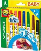 Ses Baby Markers - 8 Kleuren