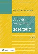 Omslag van 'Arbeidswetgeving 2016/2017'