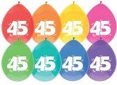 Ballonnen 45 jaar.