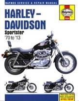 Harley-Davidson Sportster Service & Repair Manual (70 - 13)