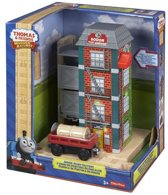 Fisher-Price - Thomas de Trein Houten Spoorbaan Verffabriek