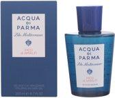 PROMO 2 stuks Acqua Di Parma BLU MEDITERRANEO FICO DI AMALFI - shower gel - 200 ml