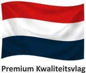 Nederlandse Vlag Nederland M-Blauw 100x150cm Premium