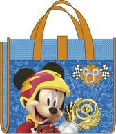 Disney Strandtas En Mat Mickey Mouse 150 Cm Blauw