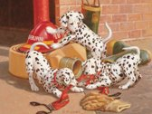Cobble Hill family puzzle 400 pieces - Dalmatian Firehouse