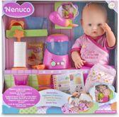 Nenuco Maaltijd Babypop 42 cm - Inclusief keukenaccessoires