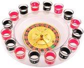Shot Roulette Drankspel - Alcohol Drank Spel - Drinkspel - Drink Bierspel -16 Glazen