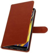 Bruin Pull-Up Booktype Hoesje voor Galaxy Note 9