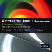 V. Einem Klavierkonz.; Lifschitz