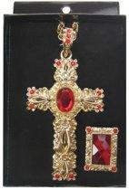 Sinterklaas kruis en ring