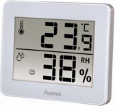 Hama Thermo/Hygrometer TH-130 - Wit